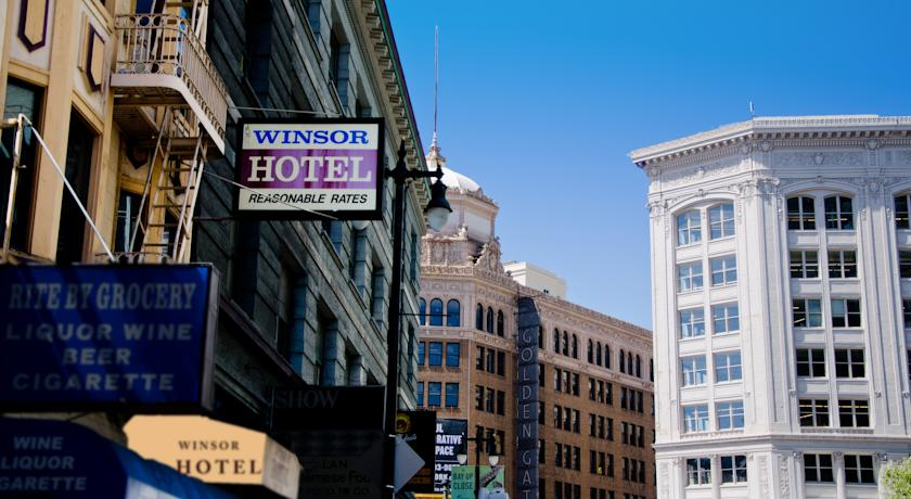 Winsor Hotel in San Francisco